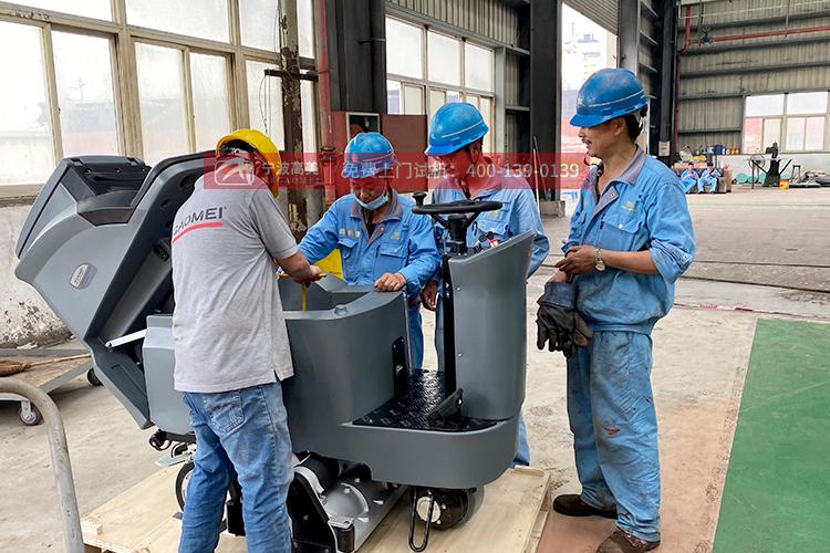 保洁公司采购电动洗地机 找经销商靠不靠谱