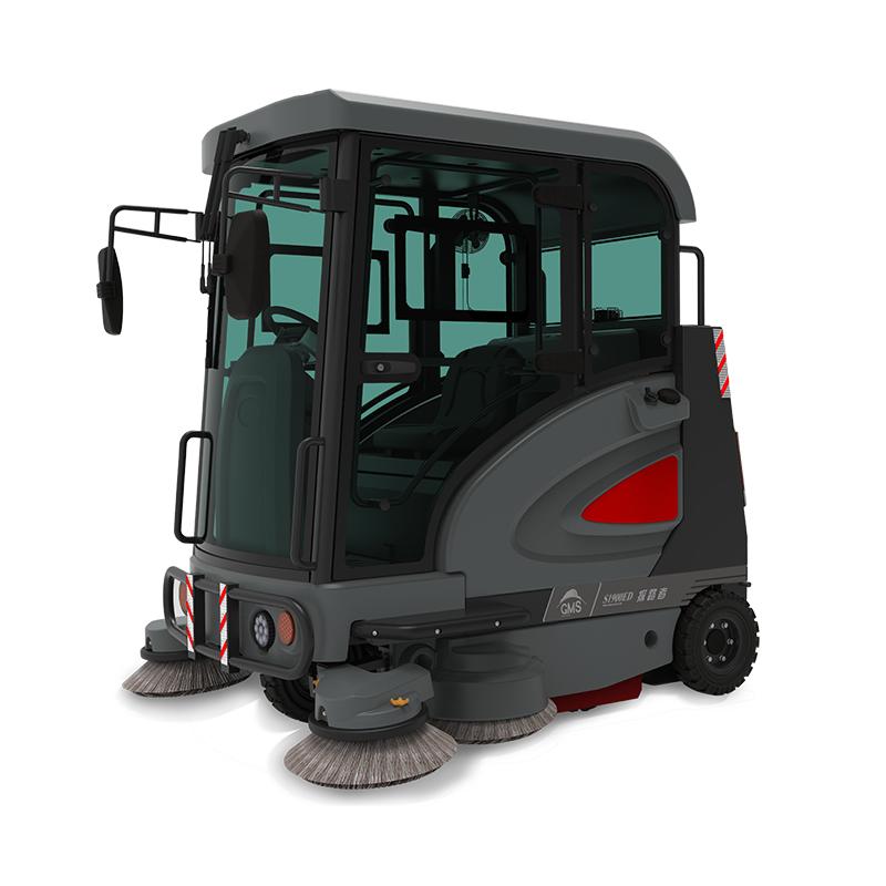 高美GAOMEI全封闭式电动扫地车S1900ED