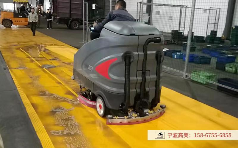一台大型座驾式洗地机多少价位合适