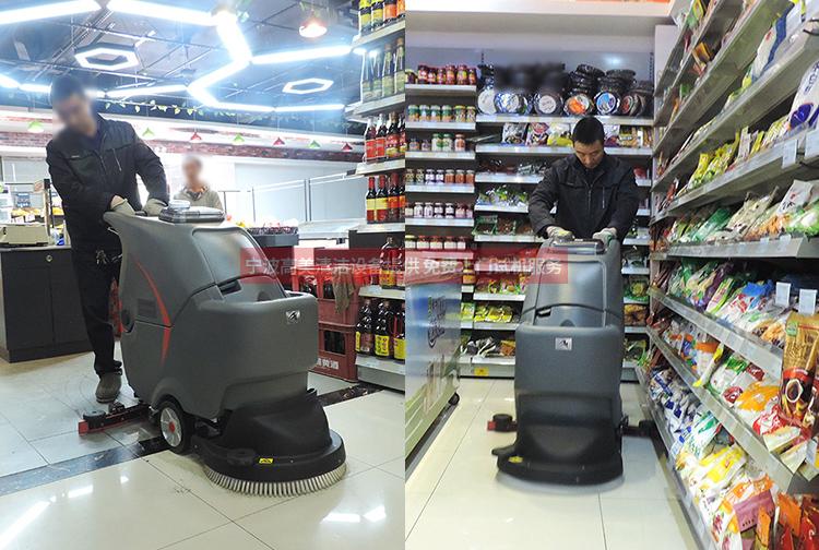 超市手推式洗地机/车多少钱合适 浙江洗地机供应商告诉您
