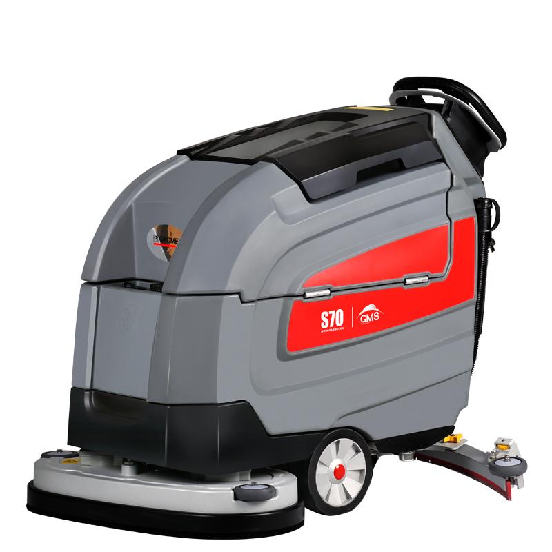 高美电动推杆调节智慧型洗地机S70